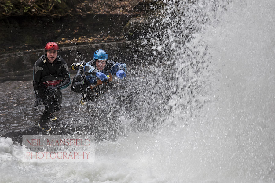 Canyoning Stag Party Activity